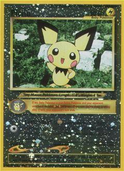 Pokemon Promo Cards WotC Promo Pichu #35