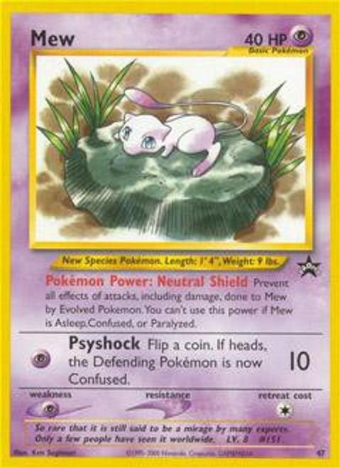 Pokemon Promo Cards WotC Promo Mew #47