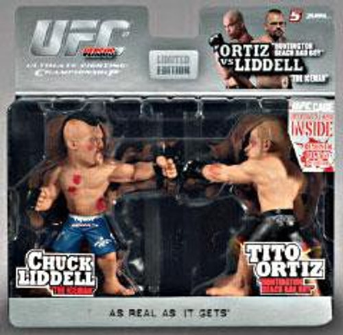 UFC Ultimate Collector Versus Series 1 Liddell Vs. Tito Ortiz Action Figure 2-Pack [Limited Edition]