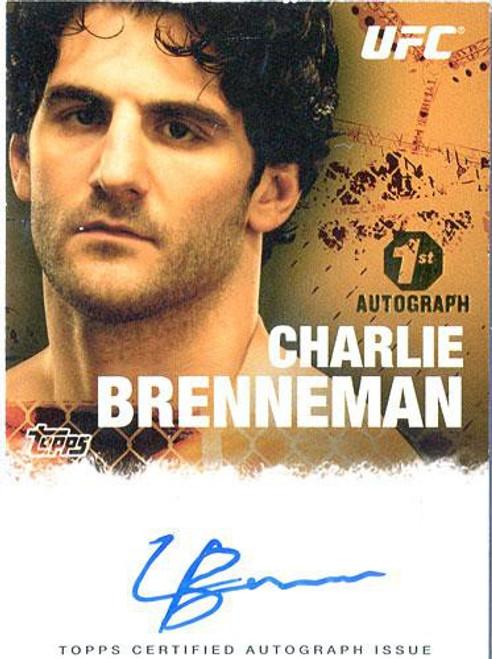 Topps UFC 2010 Championship Charlie Brenneman Autograph Card FA-CB