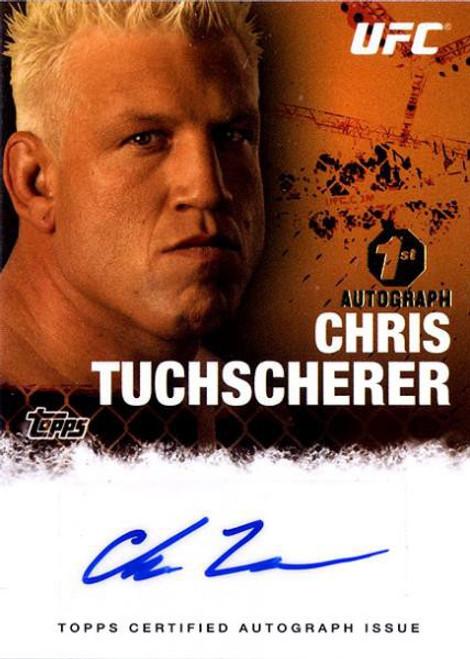 Topps UFC 2010 Championship Chris Tuchscherer Autograph Card FA-CT