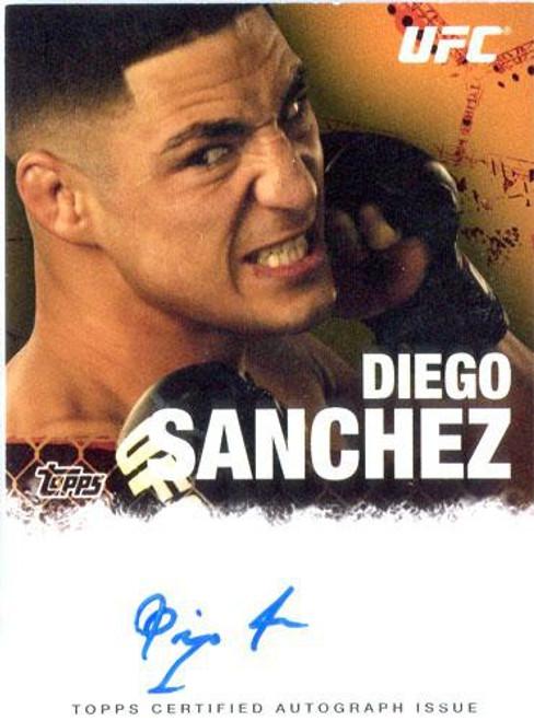 Topps UFC 2010 Championship Diego Sanchez Autograph Card FA-DS
