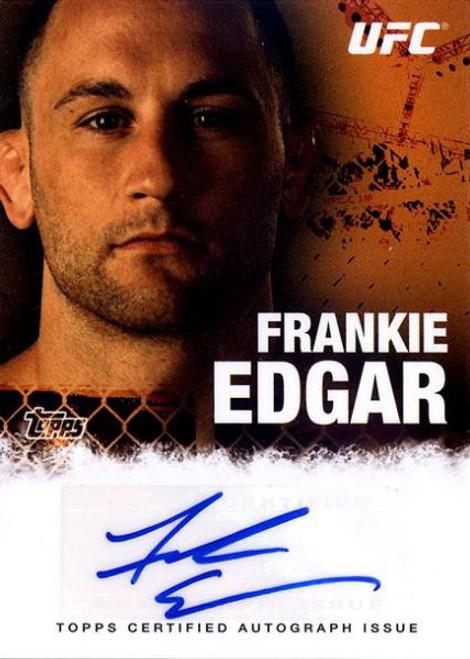 Topps UFC 2010 Championship Frankie Edgar Autograph Card FA-FE