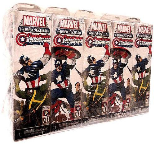 Marvel HeroClix Captain America ClixBrick