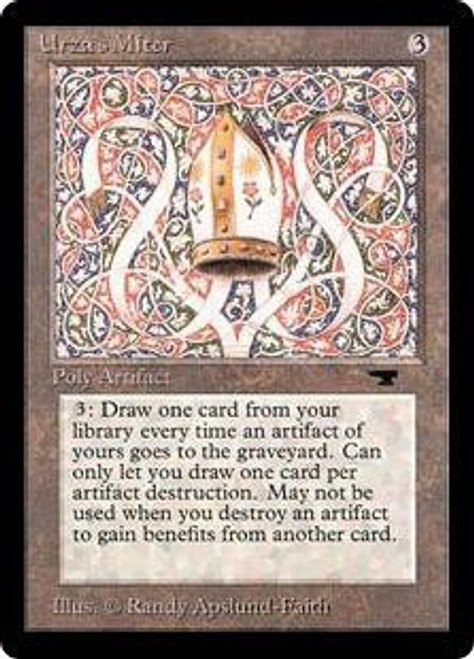 MtG Antiquities Rare Urza's Miter