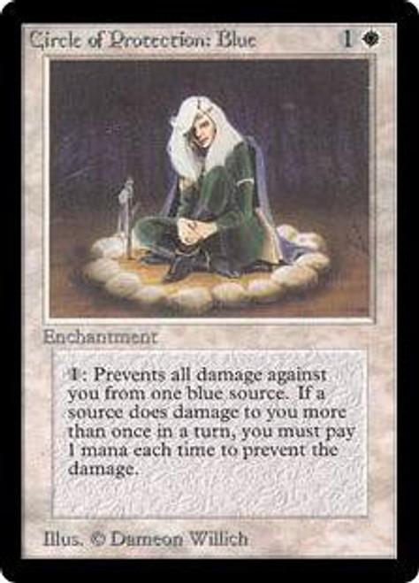 MtG Beta Common Circle of Protection: Blue