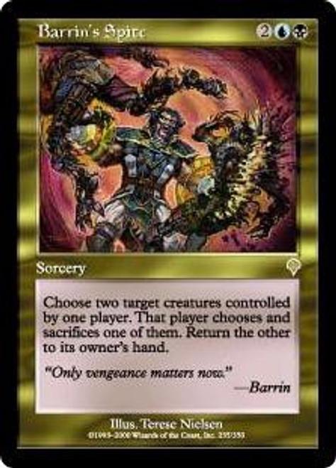 MtG Invasion Rare Barrin's Spite #235