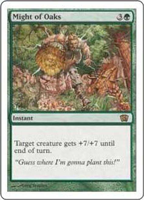 MtG 8th Edition Rare Might of Oaks #265