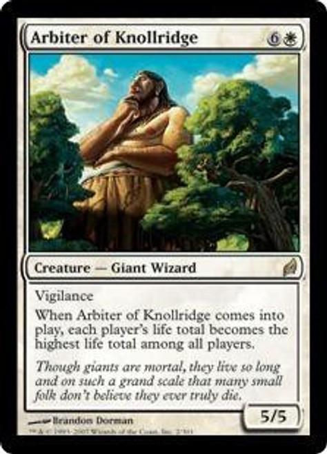 MtG Lorwyn Rare Arbiter of Knollridge #2