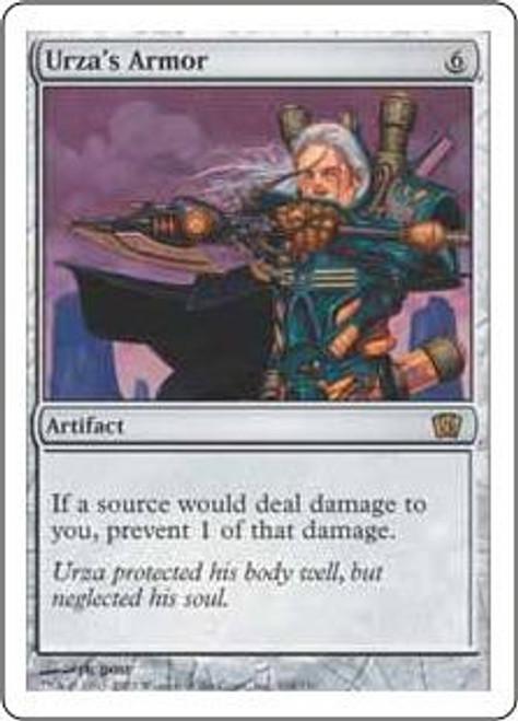 MtG 8th Edition Rare Urza's Armor #318