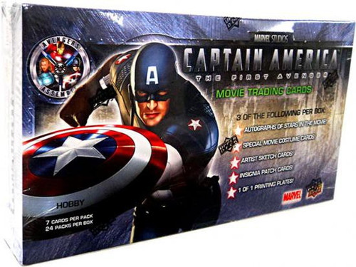 Captain America: The First Avenger Trading Card Box