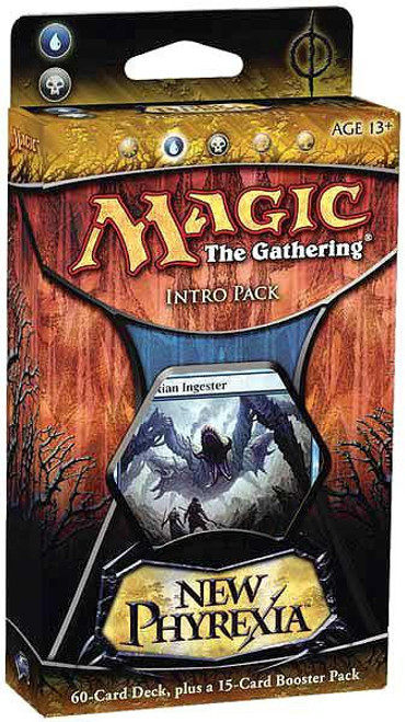 MtG Trading Card Game New Phyrexia Devouring Skies Intro Pack