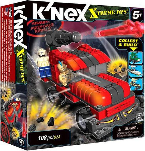 K'Nex Xtreme Ops Mission: Fireforce Rebels Set #11224