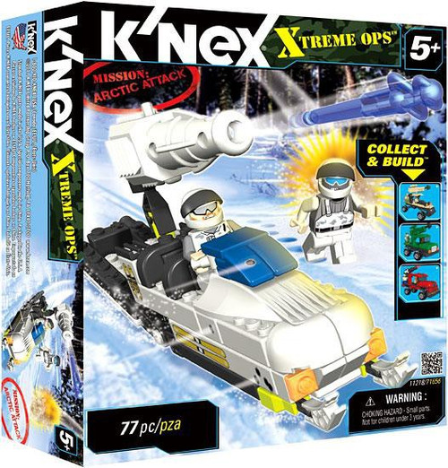 K'Nex Xtreme Ops Mission: Arctic Attack Set #11218