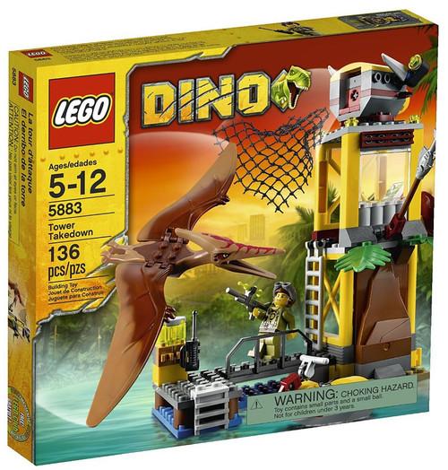 LEGO Dino Tower Takedown Set #5883
