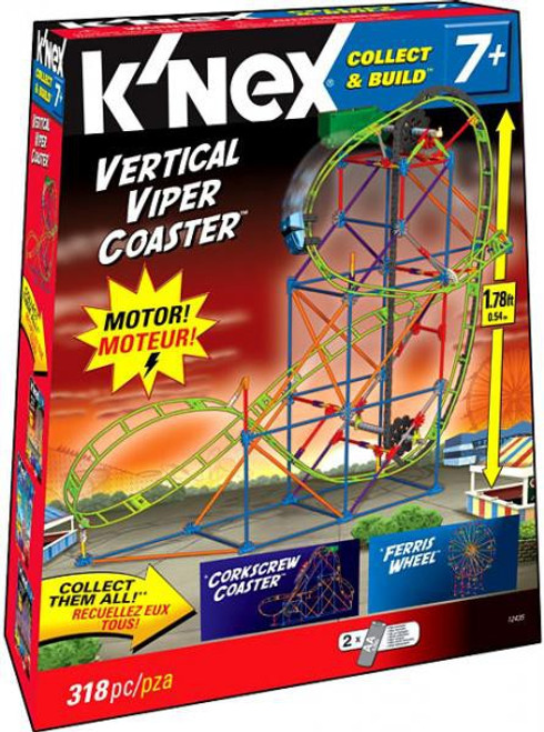 K'Nex Collect & Build Vertical Viper Coaster Set #12435