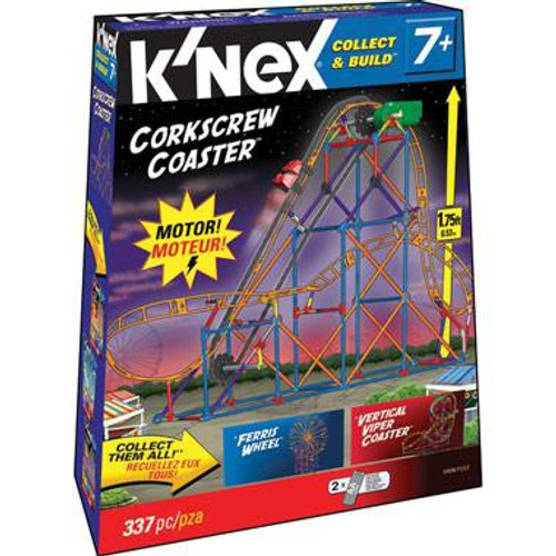 K'Nex Collect & Build Corkscrew Coaster Set #12434