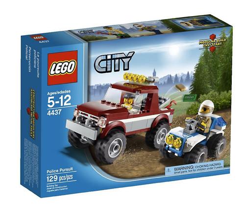 LEGO City Police Pursuit Set #4437