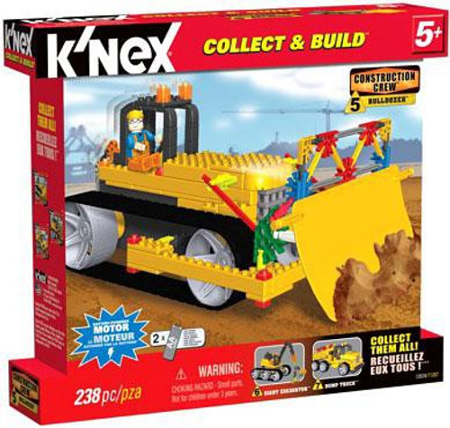 K'Nex Construction Crew Bulldozer Set #13524