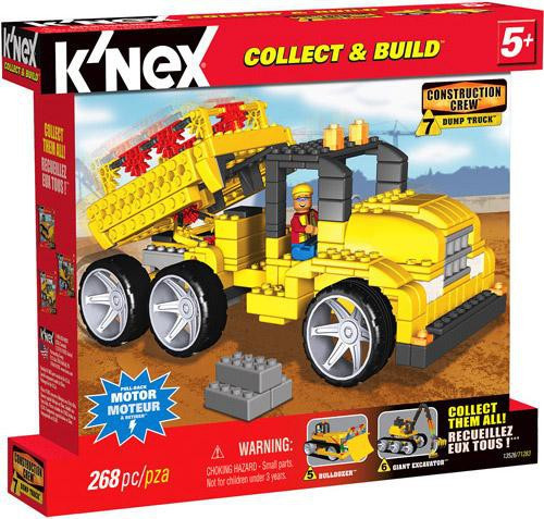 K'Nex Construction Crew Dump Truck Set #13526