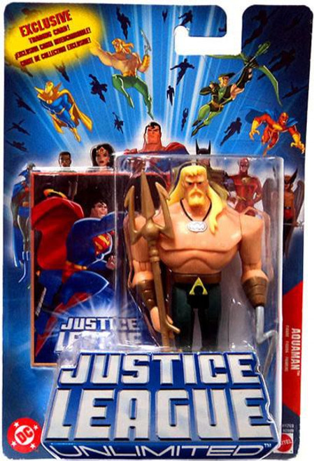 Justice League Unlimited Aquaman Action Figure