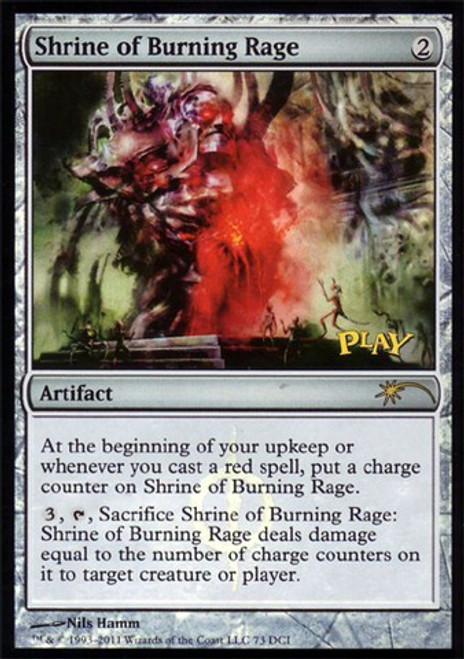 MtG Assorted Promo Cards Promo Foil Shrine of Burning Rage