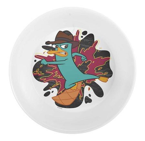 Disney Phineas and Ferb 5.5 Inch Mealtime Bowl 5.5-Inch