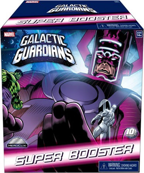Marvel HeroClix Galactic Guardians SUPER Booster Pack