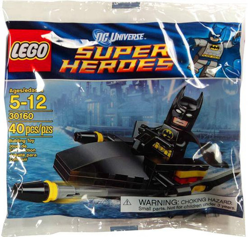 LEGO DC Universe Super Heroes Batman Jetski Mini Set #30160 [Bagged]