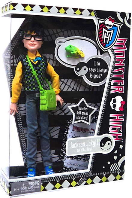Monster High Jackson Jekyll 10.5-Inch Doll [With Crossfade]