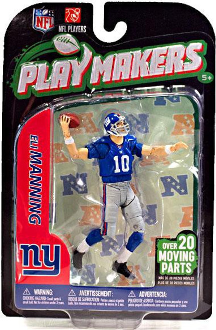 McFarlane Toys NFL New York Giants Playmakers Series 3 Eli Manning Action Figure