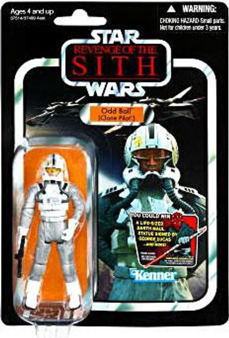 Star Wars Revenge of the Sith 2012 Vintage Collection Odd Ball Action Figure #97 [Clone Pilot]