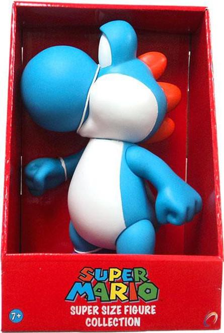 Super Mario Series 2 Yoshi 9-Inch Vinyl Figure [Blue]