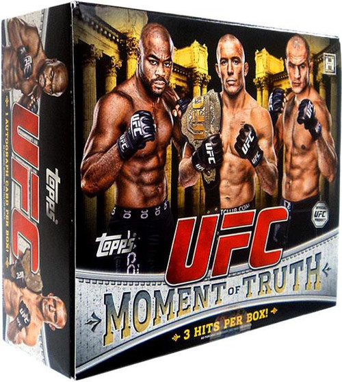 UFC Ultimate Fighting Championship 2011 Moment of Truth Trading Card Box