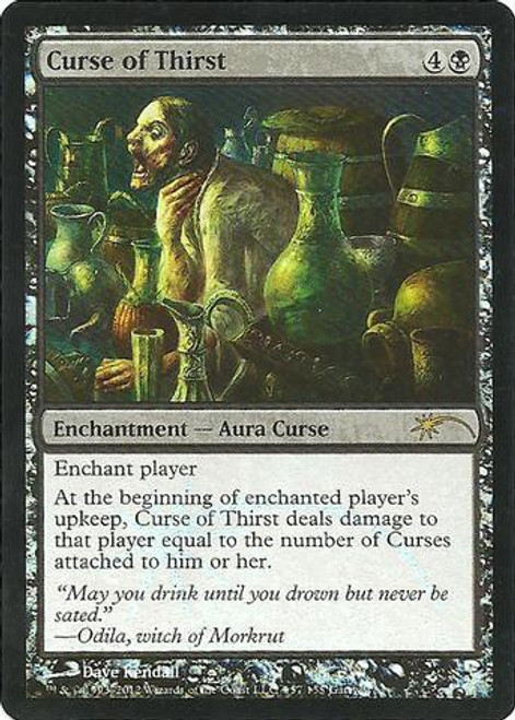 MtG Assorted Promo Cards Promo Curse of Thirst [WPN Promo]