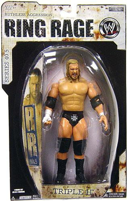 WWE Wrestling Ruthless Aggression Series 40.5 Ring Rage Triple H Action Figure