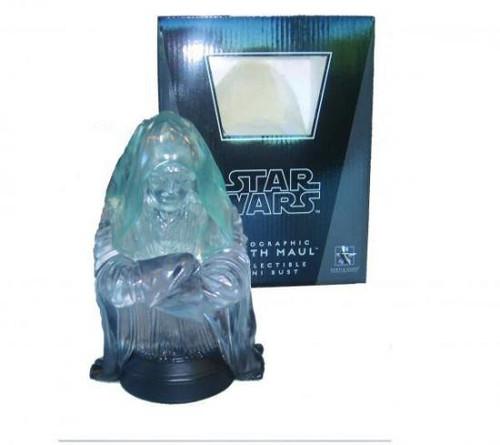 Star Wars Mini Busts Holographic Darth Maul Mini Bust