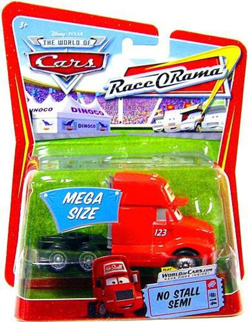 Disney / Pixar Cars The World of Cars Race-O-Rama No Stall Semi Diecast Car #14