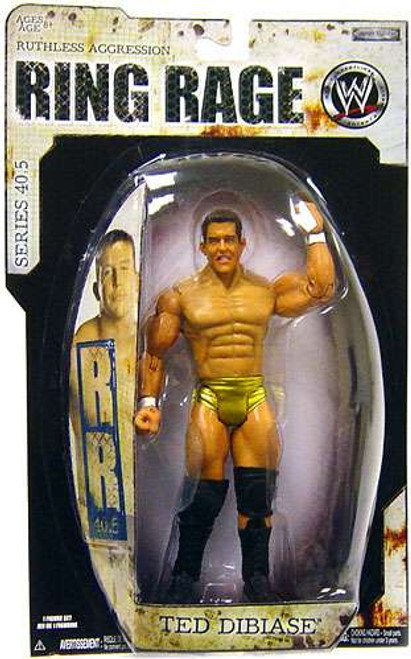 WWE Wrestling Ruthless Aggression Series 40.5 Ring Rage Ted Dibiase Jr. Action Figure
