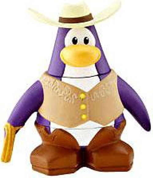 Club Penguin Cowboy 2-Inch Mini Figure