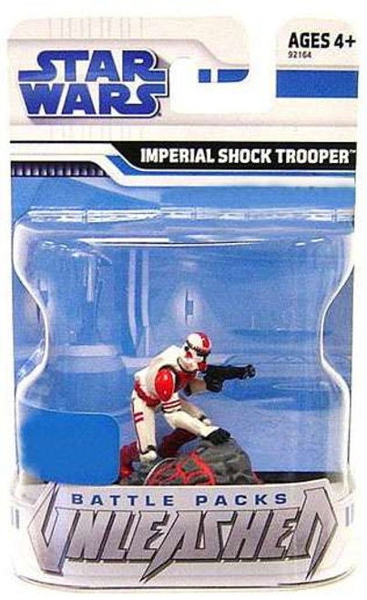 Star Wars The Clone Wars 2009 Unleashed Battle Pack Imperial Shock Trooper Exclusive Action Figure