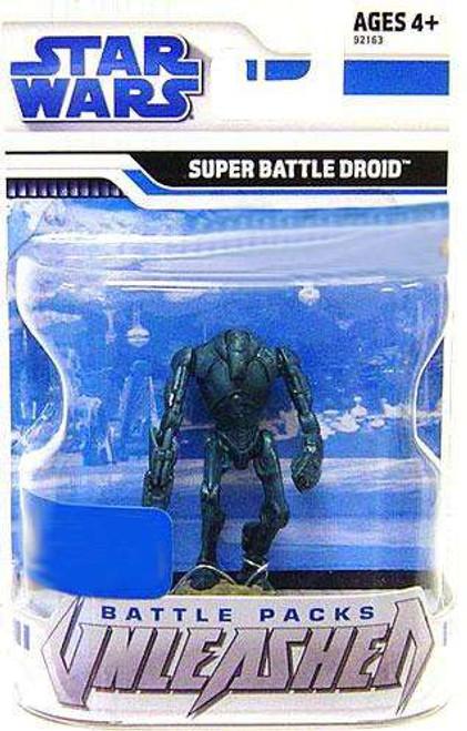 Star Wars The Clone Wars 2009 Unleashed Battle Pack Super Battle Droid Exclusive Action Figure