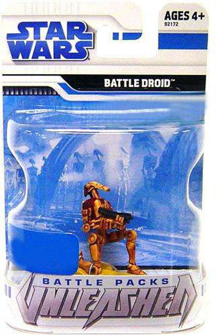 Star Wars The Clone Wars 2009 Unleashed Battle Pack Desert Battle Droid Exclusive Action Figure