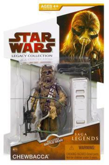 Star Wars The Empire Strikes Back 2009 Legacy Collection Saga Legends Chewbacca Action Figure #15
