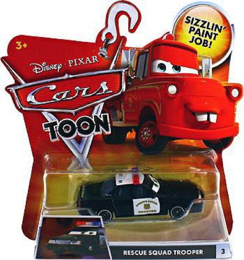 Disney / Pixar Cars Cars Toon Main Series Rescue Squad Trooper Diecast Car #3