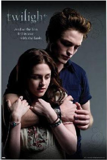 Twilight Lion and The Lamb Poster