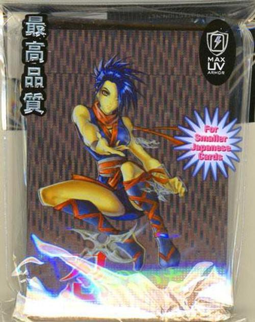 Card Supplies Ninja Girl Small Card Sleeves [60 Count]