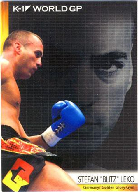 "MMA K-1 World GP Stefan ""Blitz"" Leko #04"