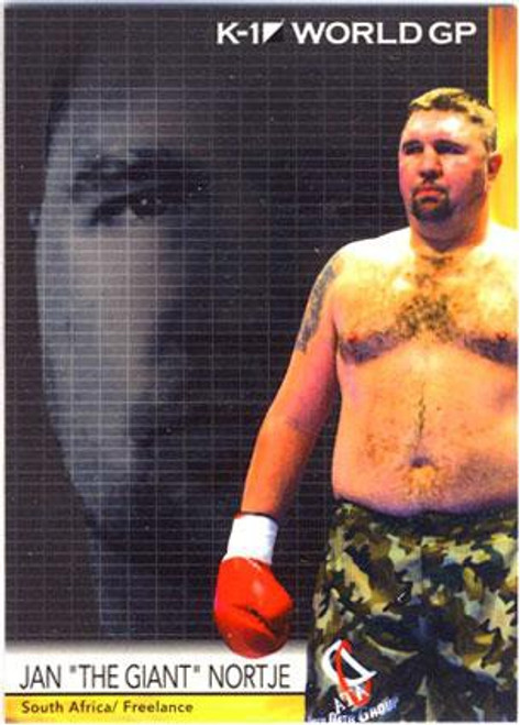 "MMA K-1 World GP Jan ""The Giant"" Nortje #20"