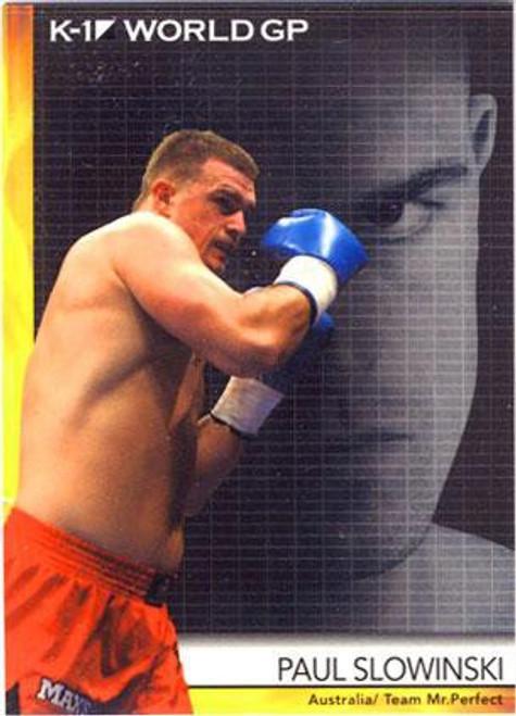 MMA K-1 World GP Paul Slowinski #11
